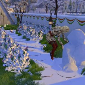 The Sims4 「一日遅れのクリスマス 後編」 不思議町日誌(25)