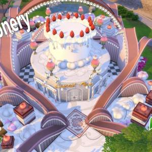 The Sims4 「Sweet Confectionery-Nocc- 配布」