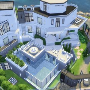 The Sims4 「Luxury House-Nocc- 配布」