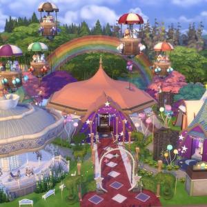 The Sims4 「Magical Sircus-Nocc- 配布」
