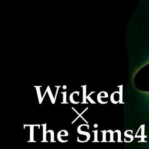 The Sims4 「Wicked-Nocc- 配布」