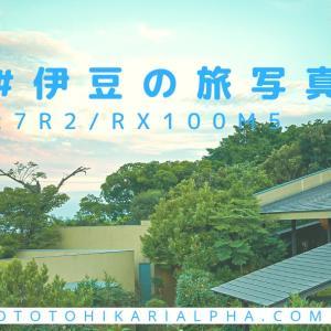 伊豆旅行でαを使って撮った写真たち