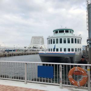 神戸に来たなら、船に乗ったらいいよ。酔うけど。