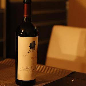 ワインどころかほとんどお酒のこと全く知らないくせにOPUS ONE(オーパスワン)2010を呑んでやったぞ!