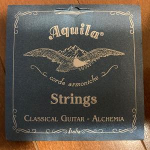 弦の感想: アクイーラ アルケミア ノーマルテンション(Aquila Alchemia Normal Tension 140C)