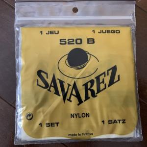 弦の感想: サバレス 白ラベル (Savarez 520B)