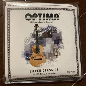 弦の感想: オプティマ シルバークラシックス (Optima Silver Classics)