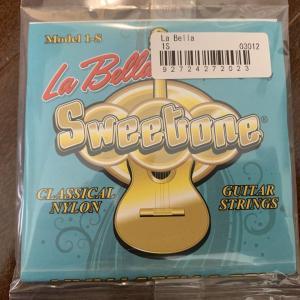 弦の感想: ラベラ スイートワン (La Bella Sweetone 1-S)