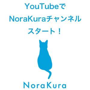 YouTubeでNoraKuraチャンネルスタート!