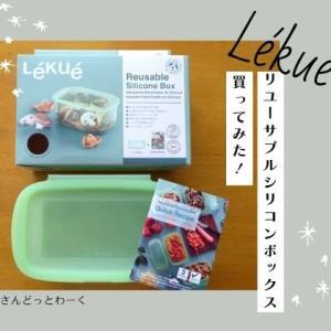 Lekueのリユーサブルシリコンボックスを使ってみた!洗いやすく保存・調理に便利なシリコン容器。