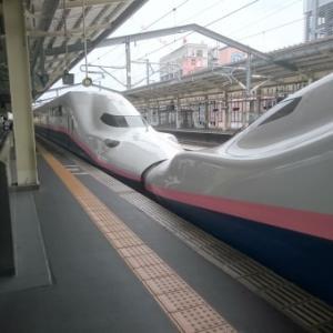 新幹線でお見合いに!