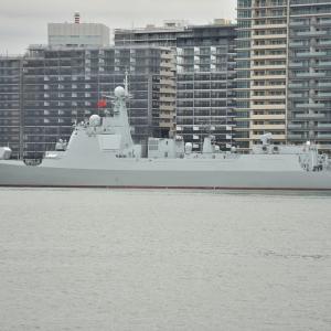 10/16 幻の観艦式後の海外艦艇入出港ラッシュを見に行く@晴海&横須賀
