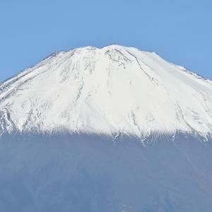 富士山初冠雪の翌日に…