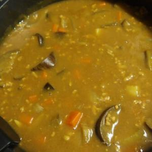 茄子カレー