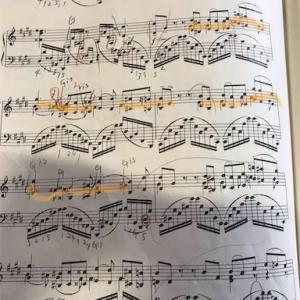今日のピアノ練習 スクリャービンとショパン