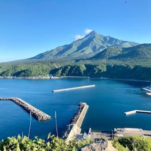 日本一周Nバン車中泊 11日目 折りたたみ自転車で利尻島一周に挑戦!