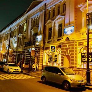ウラジオストク最古 ベルサイユホテル宿泊記 噴水通りも近くて便利!
