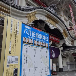 歌舞伎「8月花形歌舞伎」(棒しばり)