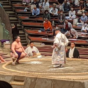 大相撲観戦(令和2年9月場所7日目)