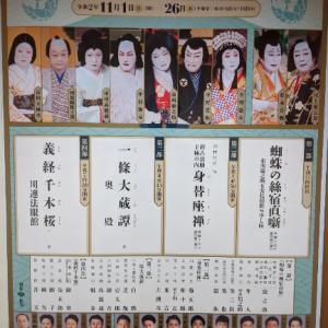 歌舞伎「吉例顔見世大歌舞伎」(義経千本桜~川連法眼館~)