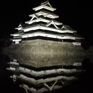 【松本城見学】夜の松本城を見に行きました。~松本旅行体験記~