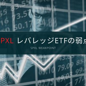 SPXL レバレッジETFの弱点