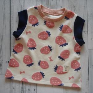 北欧いちごで、milimiliさんの4種の袖Tシャツ♪