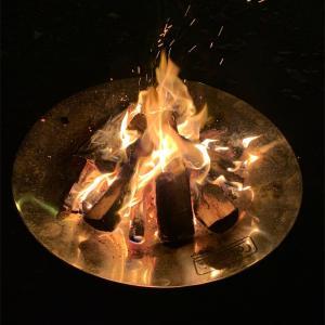 北海道のキャンプ場〜由仁町〜【古山貯水池キャンプ場】無料で薪割り放題&お湯の出るキャンプ場‼️《我が家の過ごし方・今シーズンのキャンプ納め編》