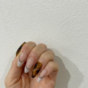 my nailをお披露目♡