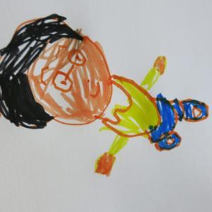 【3歳6か月~5歳0か月】お絵描きの発達/これもまた特徴的