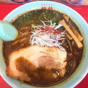 【黒い辛さ】北斗市 麺屋 雅龍の辛いラーメン食べた