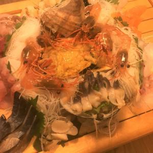【函館 さわ7の宴会コース】新設された個室で海鮮を堪能してきた