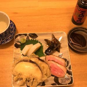 【函館柏木町 三貞】そば屋の肴セットと だし茶漬けとそば