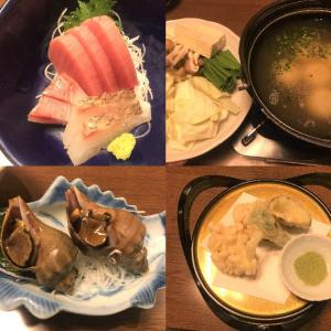 【函館 ひろべ コース料理】海の幸を堪能したよ