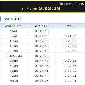 いびがわマラソンの走り方