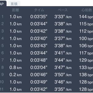 5月12日 10km走