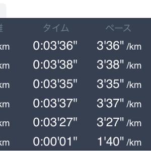 5月15日 5km+1km