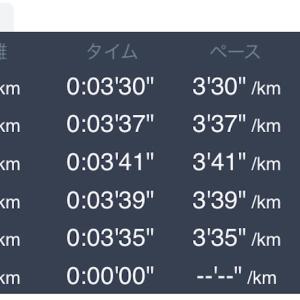 6月5日 5km+1km