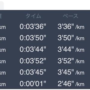 6月19日 5km+1km