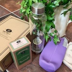 ルイボスティー&ノンカフェ専門店『 H&F BELX 』のタンブラー付きお茶セットが届きました!