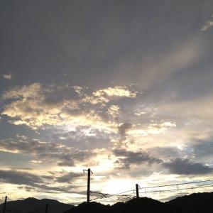 本日の宵闇
