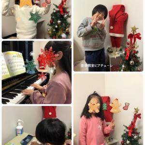 教室もクリスマス仕様になりました♪