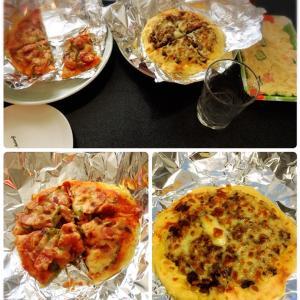 【kin17】手作りピザで昼からカンパーイ