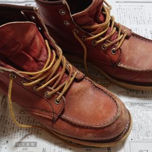何年振り?ブーツの手入れをしてみる