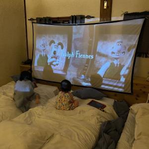 プライベート映画館!ホテルシアターで子どもたちも大喜び!