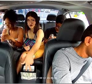 手つきがプロ!!ウーバータクシー(Uber)でお客におカネ盗られちゃう!!