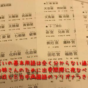 春の台湾滞在記-第3日目その2 占験派紫微斗数楊老師の鑑定を受けてみたいと思ったきっかけ