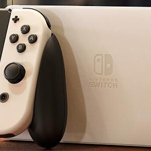 Nintendo Switch(有機ELモデル)外観デザイン比較!