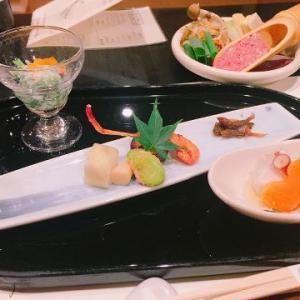 花伝抄の夕食は飲み食べ放題付きのコースメニューで大満足♪