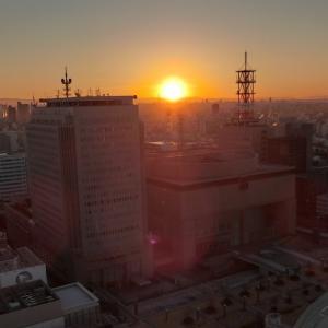 2019年名古屋テレビ塔からの初日の出